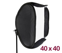 Easy Folder-Softbox 40 x 40cm (Lichtwanne)