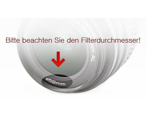 Daisee DMC UV Filter 37mm UV Haze Pro Slim, 8-fach vergütet