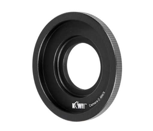 Objektivadapter für C-Mount Objektive an micro Four Thirds