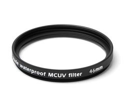 Multicoated  UV Filter 46 mm vergütet wasserfest
