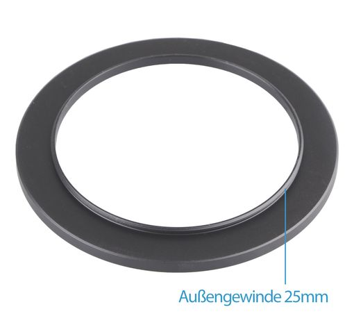 Step Up Ring 25-37mm Adapterring