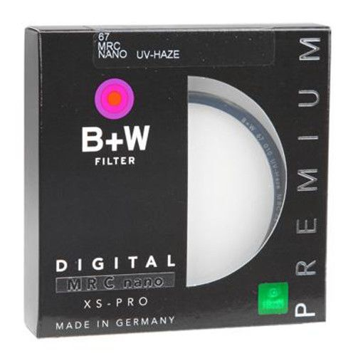 B+W UV-HAZE Filter (67mm, MRC Nano, XS-PRO digital)