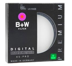 B+W UV-HAZE Filter (77mm, MRC Nano, XS-PRO digital)