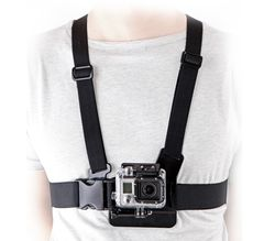 Brustgurt-Halterung Chest Mount Harness für GoPro Kamera...