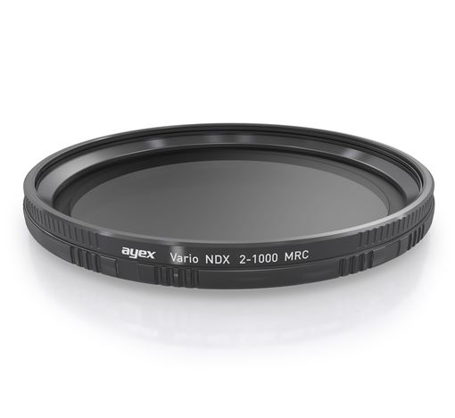 ayex MRC Slim Graufilter variabel ND2 - ND1000 58mm