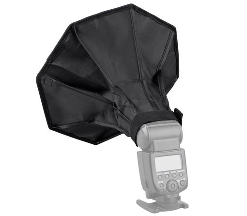 Oktagon-Softbox 30cm für Systemblitze