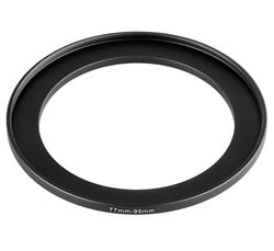 Step Up Ring 77-95 mm Reduzierring Adapterring Kompatibel...