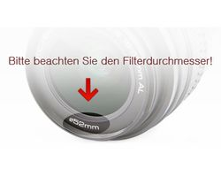 Graufilter ND8 Filter 55mm ND-8