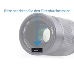 Graufilter ND8 Filter 72mm ND-8