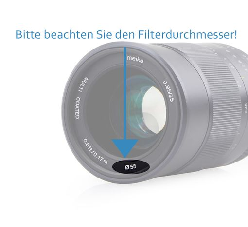 Graufilter ND8 Filter 82mm ND-8